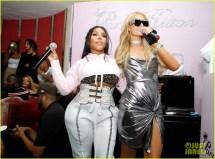 Paris Hilton Support Jackson Boohoo