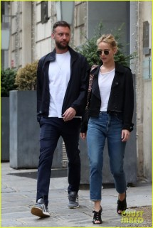 Jennifer Lawrence Spends Time With Cooke Maroney In