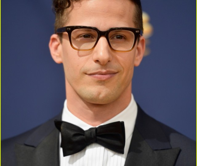 Andy Samberg Suits Up For Emmy Awards 2018