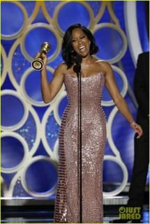 Regina King Wins Golden Globe 2019 Makes Pledge
