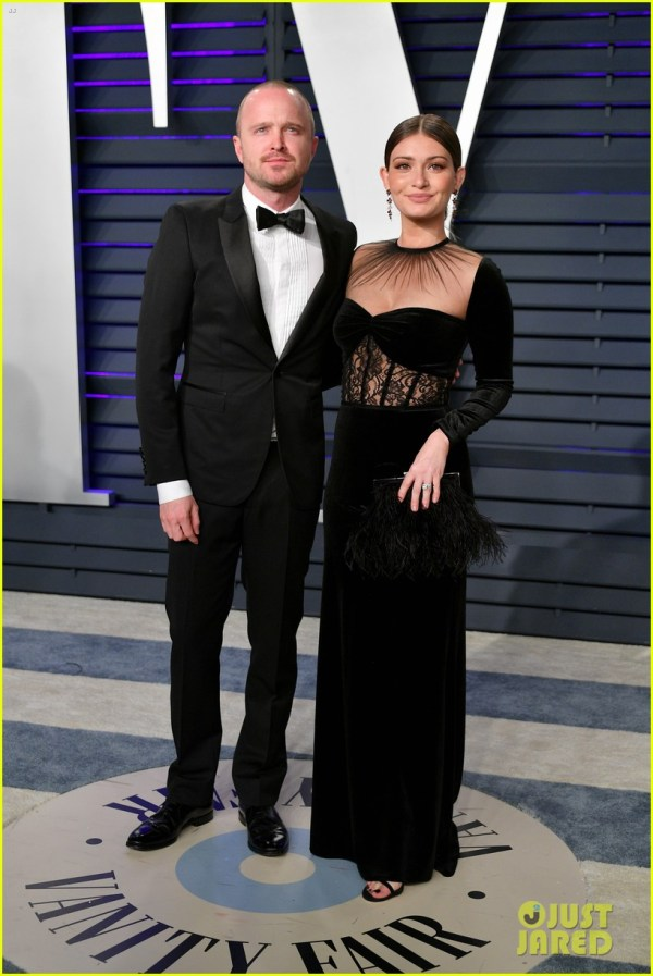 Aaron Paul Zachary Quinto & Andy Samberg Hit Vanity Fair' Oscars 2019 Party