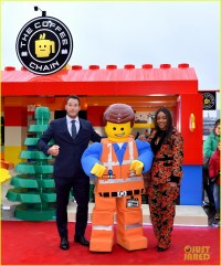 Chris Pratt & Tiffany Haddish Celebrate 'The Lego Movie 2