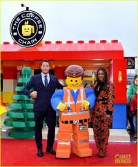 Chris Pratt & Tiffany Haddish Celebrate 'The Lego Movie 2 ...