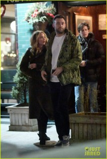 Jennifer Lawrence & Boyfriend Cooke Maroney Step