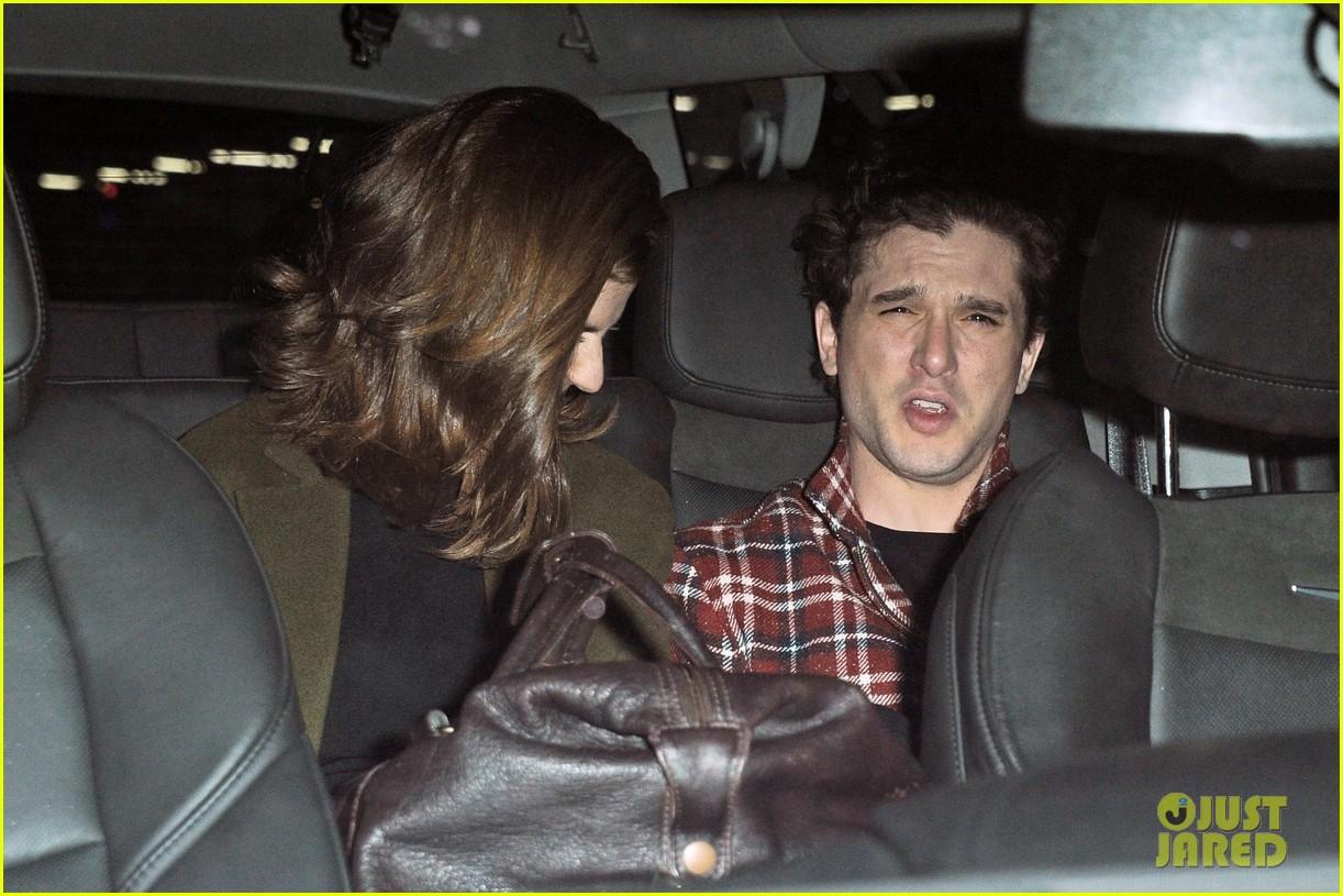 Kit Harington & Rose Leslie Attend 'SNL' After Party In