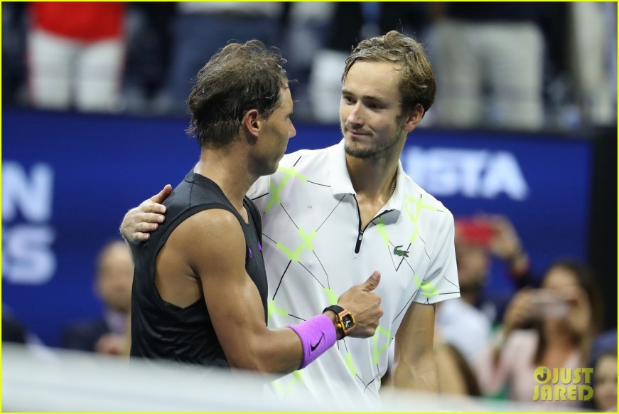 Rafael Nadal Defeats Daniil Medvedev at U.S. Open Men's ...