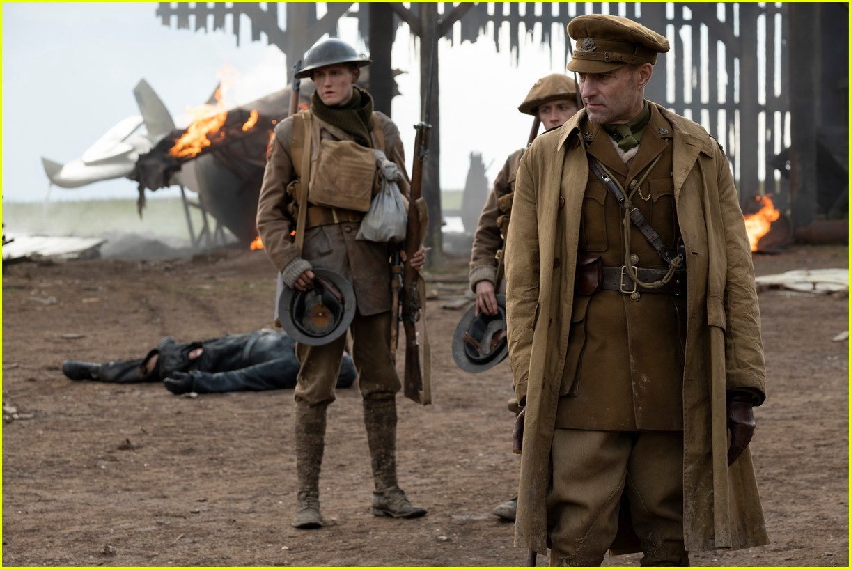 '1917' Is Making Way More Than Expected at the Box Office!: Photo 4413975   1917. Box Office. Dean-Charles Chapman. George Mackay. Movies. Sam ...