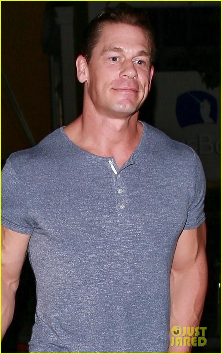 John Cena & Girlfriend Shay Shariatzadeh Keep Close on ...
