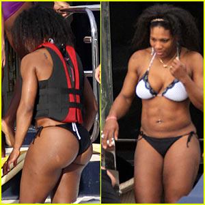 Serena Williams Christmas Bikini Time Bikini Serena
