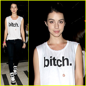 Adelaide Kane: Bootsy Bellows Night Out!