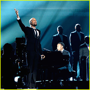 John Legend & Common Pay Tribute to 'Selma' with Grammy 2015 Performance - Watch Here!