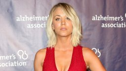 Kaley Cuoco & Big Bang Cast Support Alzheimer