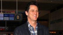 Jim Carrey Smiles Walks Lax Airport