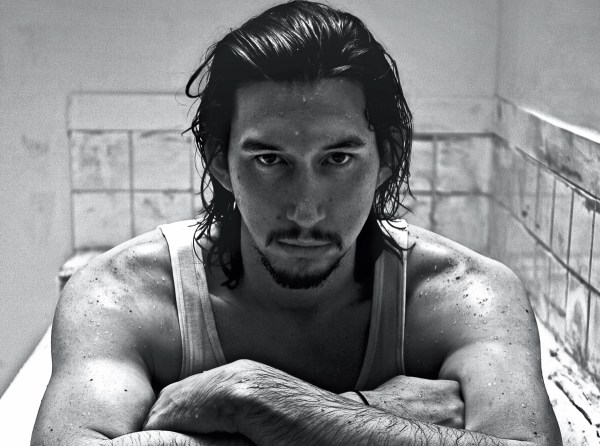 Adam Driver Puts Muscles Display Interview Spread