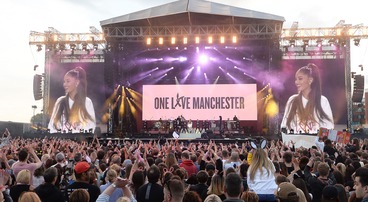 Image result for ariana grande one love manchester