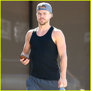 Derek Hough Puts His Biceps on Display