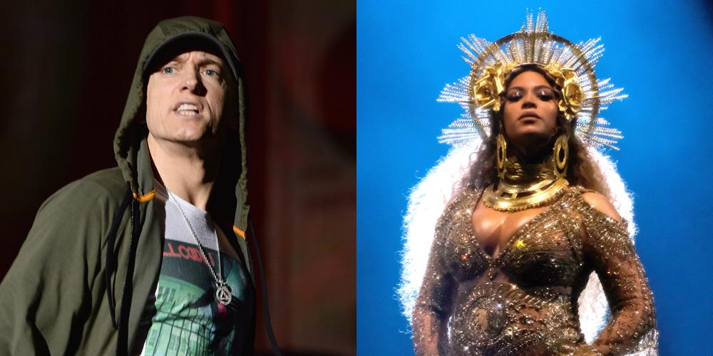 Eminem feat Beyonce Knowles Walk On Water Stream