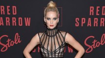 Jennifer Lawrence Stuns Red Sparrow Nyc Premiere With