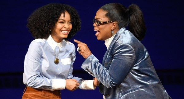 Oprah Winfrey Calls Yara Shahidi Of Profound 17-year-olds Alive
