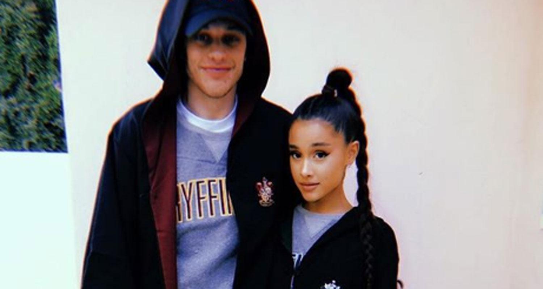 Ariana Grande  Pete Davidson Make Instagram Debut