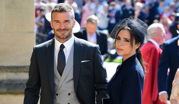 David and Victoria Beckham Royal Wedding