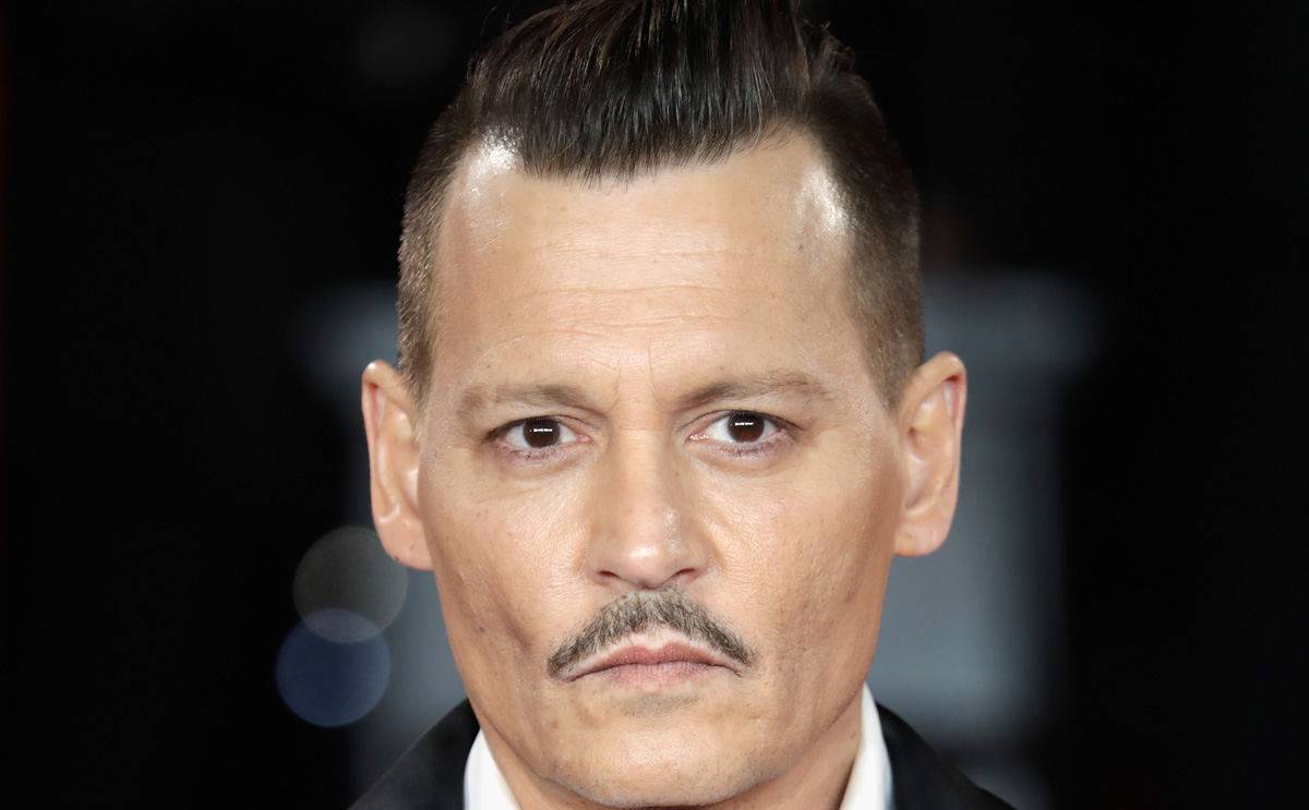 Johnny Depp Changes Amber Heard Inspired Knuckle Tattoo