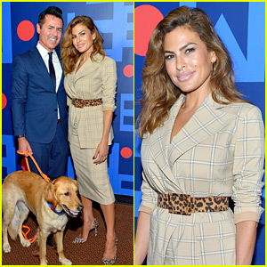 Eva Mendes Makes Rare Appearance for New York & Company Fashion Show!