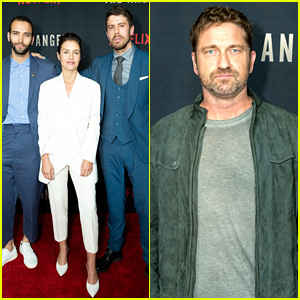Gerard Butler Supports Friend Ariel Vromen at 'The Angel' Screening in Hollywood