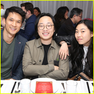 Awkwafina Joins Harry Shum Jr. & Jimmy O. Yang at Crazy Rich Eating Pop-Up