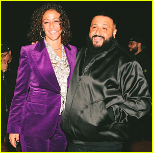DJ Khaled & Wife Nicole Tuck Celebrate Unveiling of Air Jordan 1 Miami Edition at Art Basel Miami!