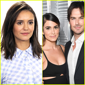 Nina Dobrev Responds to Question About Being Friends with Ex Ian Somerhalder & His Wife Nikki Reed