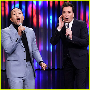 Watch John Legend & Jimmy Fallon Lip Sync to Other People Singing 'All of Me'