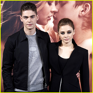 Hero Fiennes Tiffin & Josephine Langford Pair Up at 'After' Photocall in Madrid