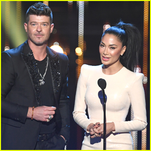 Robin Thicke & Nicole Scherzinger Present Together at iHeartRadio Music Awards 2019