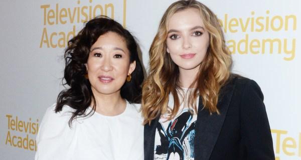 Sandra & Jodie Comer Tease Killing Eve Season 2 Premiere