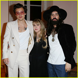 Harry Styles & Stevie Nicks Perform at Gucci's After Party in Rome