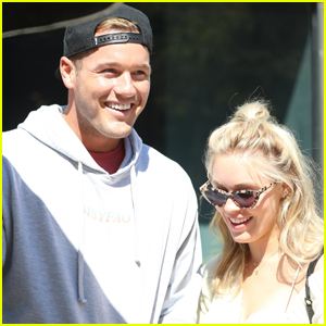 The Bachelor's Colton Underwood & Cassie Randolph Step Out on Lunch Date in WeHo