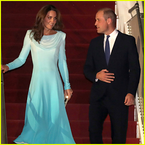 Kate Middleton & Prince William Arrive in Pakistan for Royal Tour