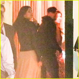 Leonardo DiCaprio & Camila Morrone Attend Event at the San Vincente Bungalows