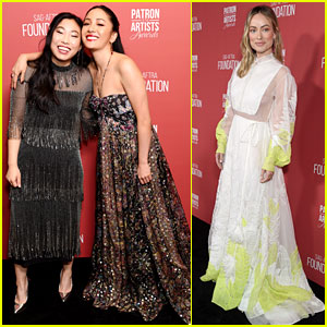 Constance Wu & Awkwafina Reunite at SAG-AFTRA Foundation Event, Join Olivia Wilde & More!