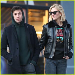 Karlie Kloss & Husband Joshua Kushner Step Out for Afternoon Stroll