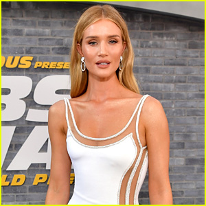 Rosie Huntington-Whiteley Explains Why She Mostly Keeps Pictures of Her 2-Year-Old Son Off Social Media
