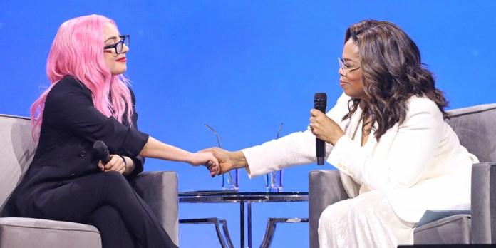 Resultado de imagen para lady gaga oprah interview 2020