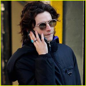 Timothee Chalamet Shops Around NYC After 'Little Women' Scores Oscars Nods