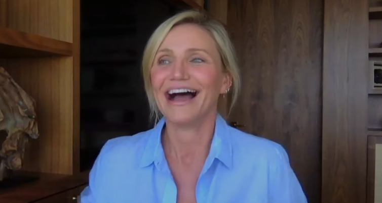 Cameron Diaz Dishes on Being a New Mom: 'We're Just So Happy' – Watch!   Cameron Diaz. Video : Just Jared