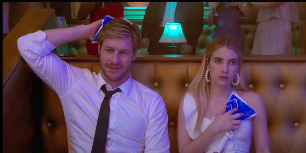 Emma Roberts Luke Bracey Are Each Other S Plus Ones For A Year Of Holidays For Netflix S Holidate 247 News Around The World