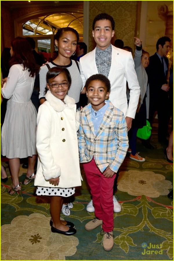 Black-ish' Yara Shahidi & Marcus Scribner Honored Afi Awards 2016 912893