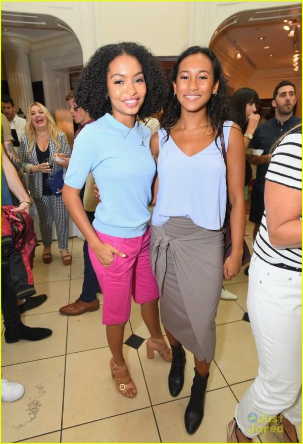 Yara Shahidi and Peyton List