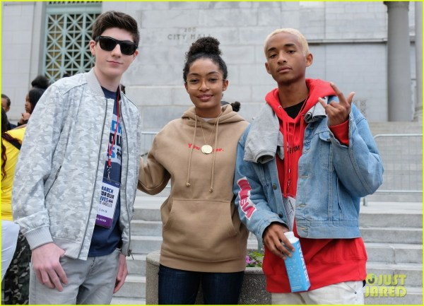 Yara Shahidi Pulls Double Duty With Kcas & March Lives In Day 1149513