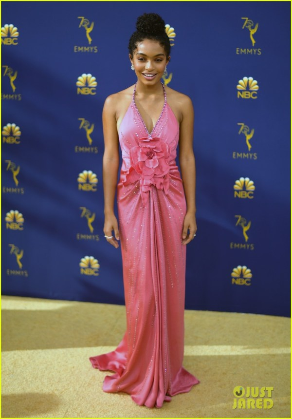 Yara Shahidi & Marsai Martin Colorful With Chic Emmy Awards 2018 1186323